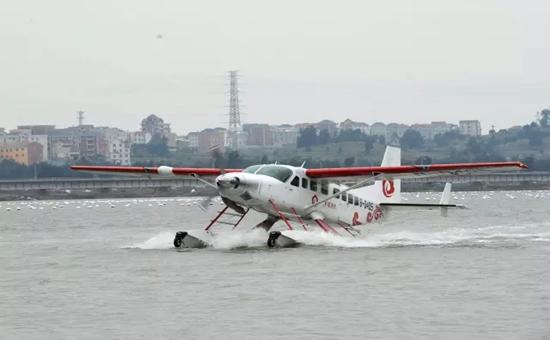 罗源县滨海新城水上机场海洋测绘项目(飞机试飞现场).png